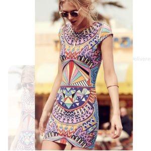 NWT! Mara Hoffman Mufasa cap sleeve mini dress